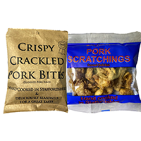 pork-scratchings-80g-and-40g-and-crispy-bites-original-65g-RayGray-Snacks-Rugeley-Staffordshire-200